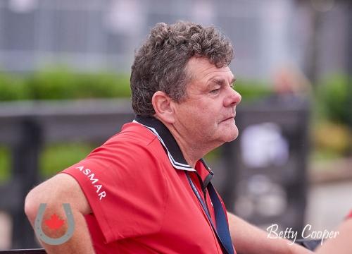 2018WEG-Clive Milkins Chef d'Equipe Para-Dres